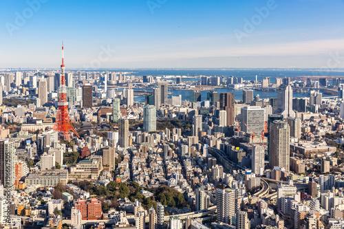 Tuinposter Tokio Tokyo Tower, Tokyo Japan