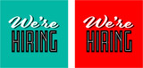 We're hiring - 196668558