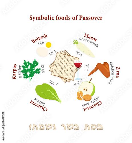 Passover Symbols Set Buy Photos Ap Images Detailview