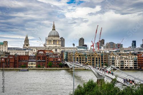Fotobehang London 런던 다리