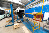 Bus production manufacture