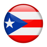 Puerto Rico Flag Vector Round Icon - 196680721