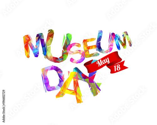 Fototapeta International Museum Day. May 18