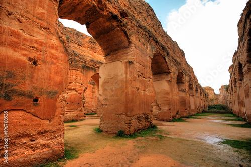 Plexiglas Marokko In the old city of Meknes in Morocco