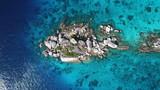Aerial photo tropical island. Similan Islands, Thailand - 196717124