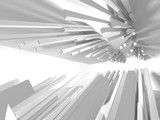 Abstract Architecture Modern Design Background - 196729592