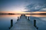 Blick über den See genießen - 196746591
