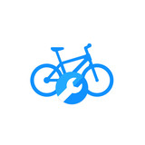 bicycle, bike repair service icon