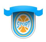 Creative sport emblem