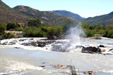 A view of the beautiful Epupa Falls on the border of Namibia and Angola. Africa