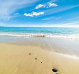 Sandy shore in Perdepera beach