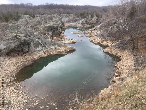 quiet inlet of Potomac river