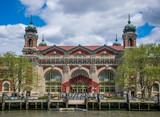 New York City, NY USA - 05/01/2015 - New York City Ellis Island Registration Building  - 196792547