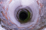A deep well without water. Source of water without water.