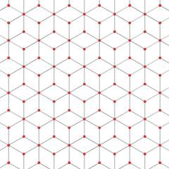 Abstract hexagon pattern