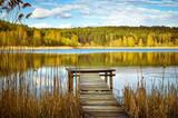 Fototapeta Bathroom - Jezioro na Mazurach © FP Foto