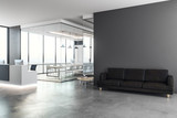 Modern reception with copy space - 196848537