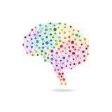 Creative concept of the human brain, eps10 vector - 196849160