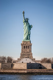 Statue of Liberty frontal view, New York City - 196862959