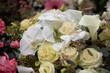 white flower arrangement - 196869524