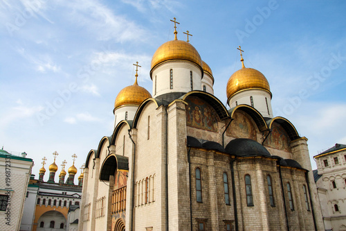 Foto op Aluminium Moskou Dormition Cathedral in the Kremlin, Moscow