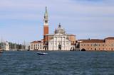 Panorama of San Giorgio Maggiore viewed from the Venice Island