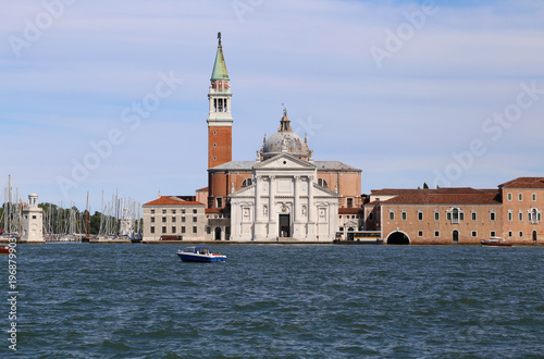 Foto op Canvas Venetie Panorama of San Giorgio Maggiore viewed from the Venice Island