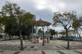 beautiful historical gazebo of Faro city