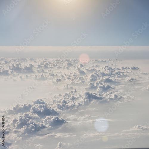 blue sky background - 196886126
