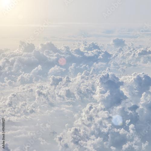 blue sky background - 196886127