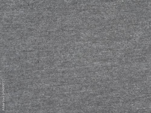 Węgiel drzewny szary melanż t-shirt tkanina tekstura