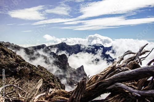 Roque De Los Muchachos, Vulkan, La Palma, Kanarische Inseln, Spanien