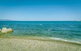 Rocky beach of Costa Brava, Spain - 196894569