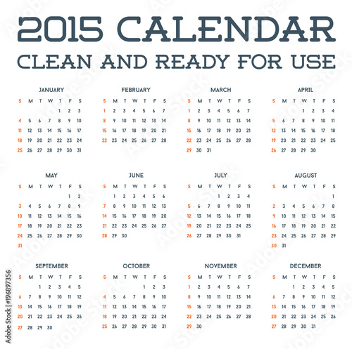 2015 clean calendar template mockup brochure business simple and 2015 clean calendar template mockup brochure business simple and ready for use in raster cheaphphosting Image collections