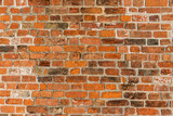 Old Brick wall Texture, background, red, retro, vintage