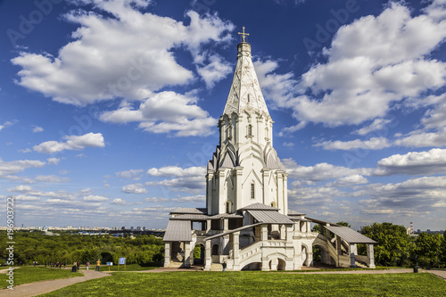 Deurstickers Moskou The Church of the Ascension in Kolomenskoye, Moscow, Russia