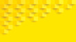 Yellow abstract background vector with blank space for text.