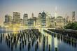 NYC by night, USA. - 196915564