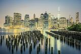 NYC by night, USA.