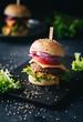 Veggie-Burger - gesundes Fastfood - 196927528