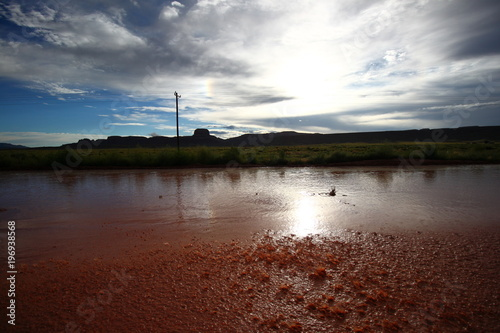 Plexiglas Bruin surprenant paysage
