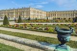 Chateau de Versailles Gardens in Paris, France. - 196953960