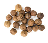 Allspice isolated on white background. - 196965532