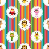 kids in animal costume wallpaper