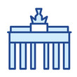 Brandenburger Tor / Berlin Vector Icon