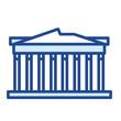 Akropolis / Athen Vector Icon