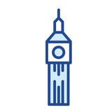 Big Ben / London Vector Icon