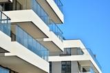 Modern apartment building - 196998726