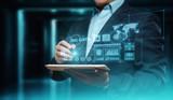 Big Data Internet Information Technology Business Information Concept - 197004940