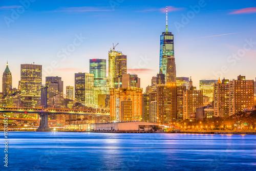 Foto op Aluminium New York New York City East River Cityscape